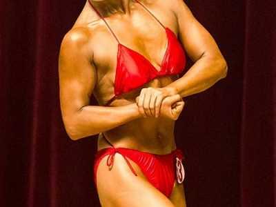女健美肌肉图片女 世界健美女子冠军肌肉图片