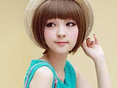 最新中短发发型图片 女生中短发发型图片(9)图片