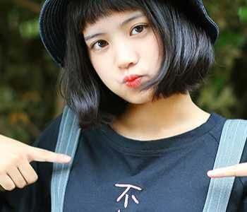 可爱的短发发型 女生可爱短发发型图片