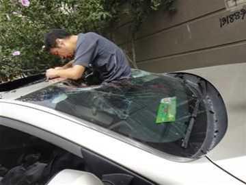 比亚迪跳楼 跳楼自杀掉进汽车