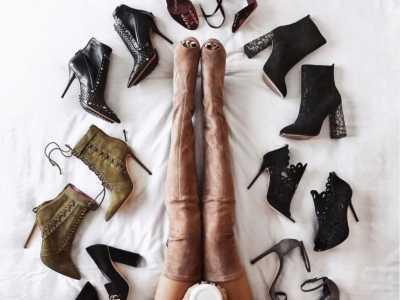 鞋子摆拍 今天教大家一种好看的摆拍方法