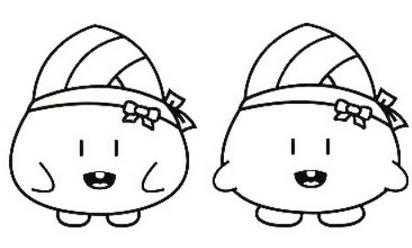 粽子图片卡通简笔画 卡通粽子简笔画图片