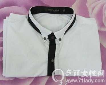 衬衣的叠法 教你长袖衬衫的叠法图解