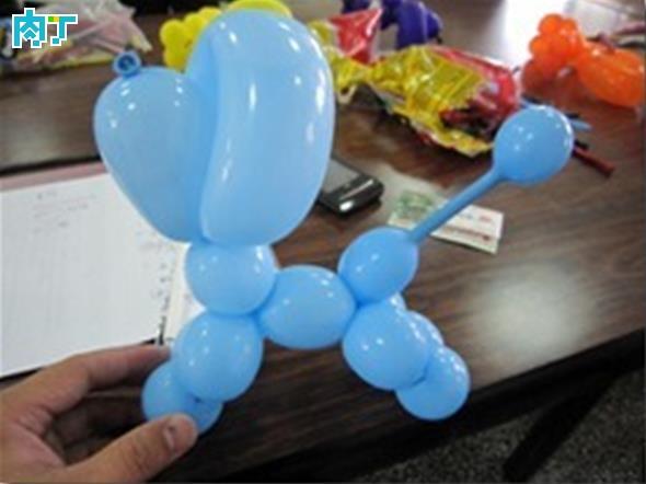 气球狗 可爱小狗的做法图解