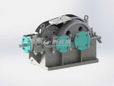 锥齿轮减速器 圆柱齿轮减速器设计