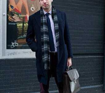 男士围巾搭配 男士围巾该如何搭配