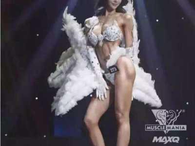 韩国最美健身女神图片 她是韩国最美健身女神
