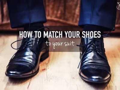 西装搭配 不同颜色西装怎么配皮鞋