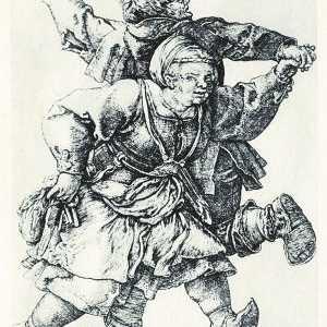 减肥w700 谈丢勒的版画《双双起舞的农民》