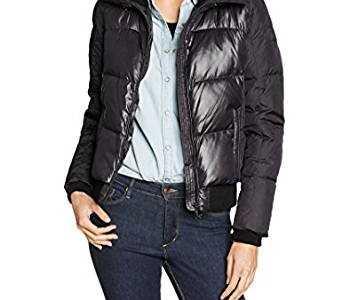 女式羽绒衬衣 Geox女式羽绒夹克衬衫长袖夹克