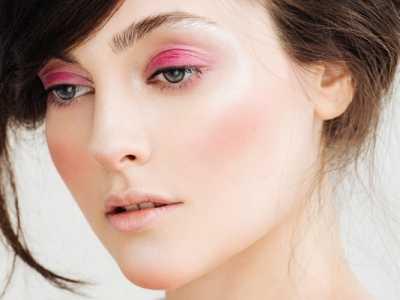 粉色妆面图片 粉色妆容主题也可以凸显创意