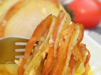 微波炉土豆美食天下 微波炉帮你搞定的土豆西式吃法—土豆烤香肠