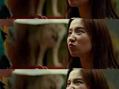 刘亦菲冯绍峰 冯绍峰这表情是痛苦还是享受