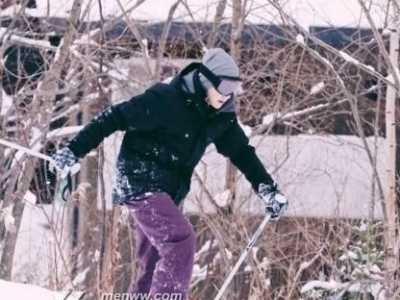 王源照片最新最帅照片 王源滑雪炫酷帅出天际