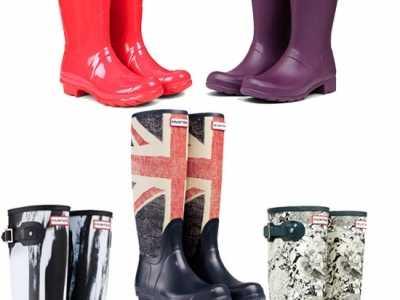 hunter雨靴 趟水太低级了