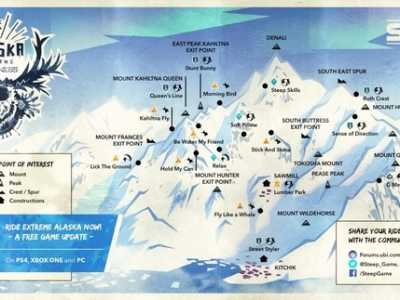 """阿拉斯加雪橇犬壁纸 免费DLC""""阿拉斯加""""上线"""