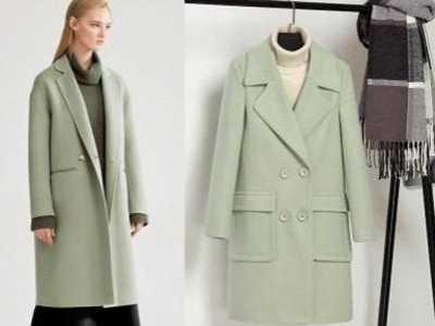 绿色衣服怎么搭配好看 豆绿色大衣怎么搭配好看