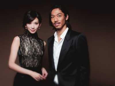 林志玲赤壁 對象是小七歲日本「放浪兄弟」成員AKIRA