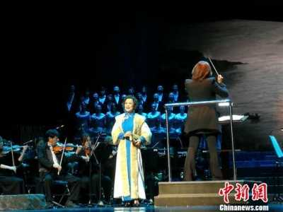 金曼 大型交响清唱剧《江姐》深圳上演