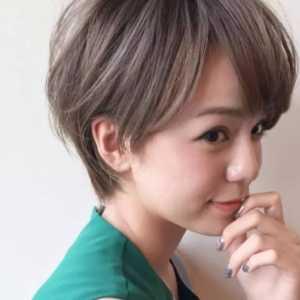 甜美日系风 日系风甜美女生短发发型