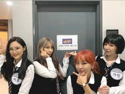 褐眼女孩综艺 BEG回归4人上综艺节目大谈不和传闻