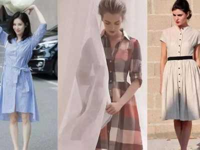 连衣裙的款式有哪些 女星最爱的款式谁穿谁好看