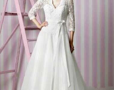 冬季婚纱礼服 冬天结婚新娘穿什么婚纱和鞋