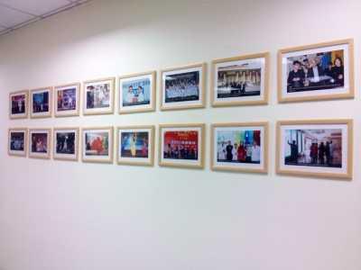 美容瘦身照片墙 悦好医学美容医院企业文化照片墙