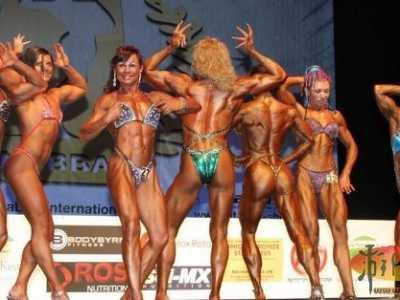 欧洲健美锦标赛 看完直接吓尿了