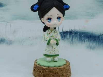 超轻粘土制作汉代美人 超轻粘土q版古装美女人偶手办做法