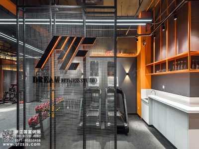 杭州下沙健身 下沙区250平方健身房设计