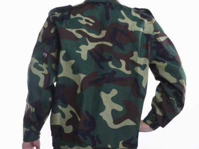 迷彩服图片 陆军新式17式迷彩服17年陆军新式迷彩服好不好